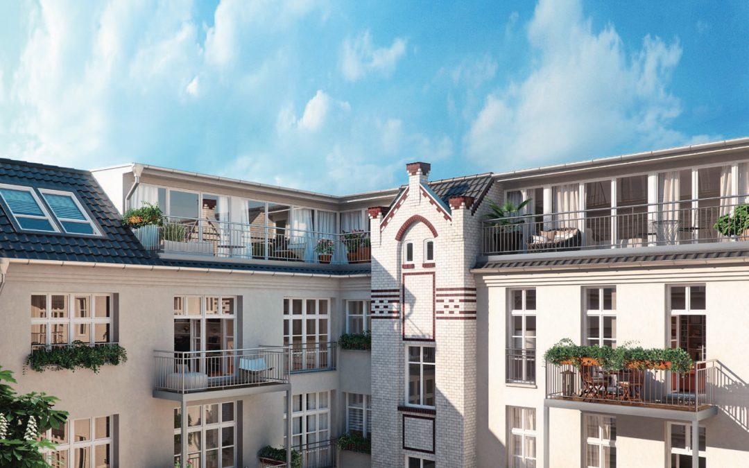 Denkmalimmobilie Zwei Höfe: Verkaufsphase für Objekt im Prenzlauer Berg kurz vor dem Abschluss